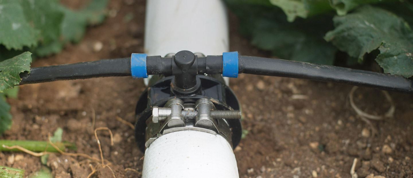 Connectors for precision irrigation